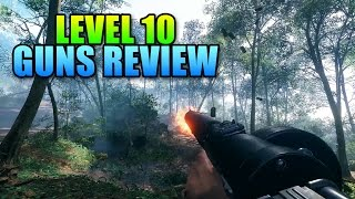 All Four Level 10 Guns Reviewed | Battlefield 1