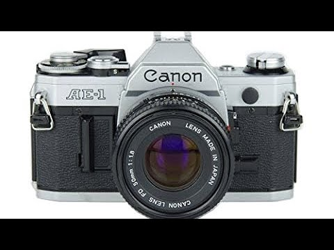 how to use a canon ae 1 slr film camera youtube