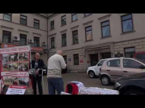 Piotr Moskwa Rozpoczyna Protest Przed Biurem Rzecznika Praw Obywatelskich 25.09.2014