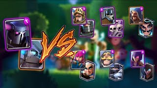 PEKKA TEAM VS ALL TEAMS IN CLASH ROYALE | PEKKA TEAM 2 ON 2 GAMEPLAY