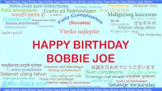 Bobbie Joe   Languages Idiomas - Happy Birthday