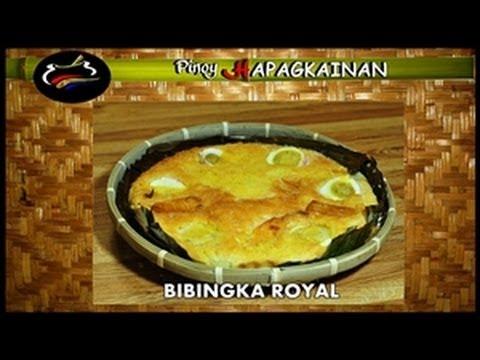 Pinoy hapagkainan bibingka royal youtube