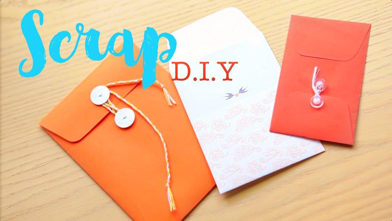 Как сделать конверт своими руками ютуб
