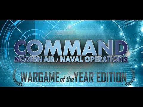 Let's Try  Command Modern Air Naval Operations WOTY - Aircraft Tutorial Scenario Gameplay