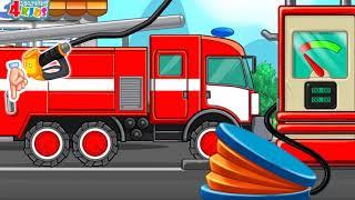 Learning Traffic vehicle for kids - Transportation Vehicles For Children