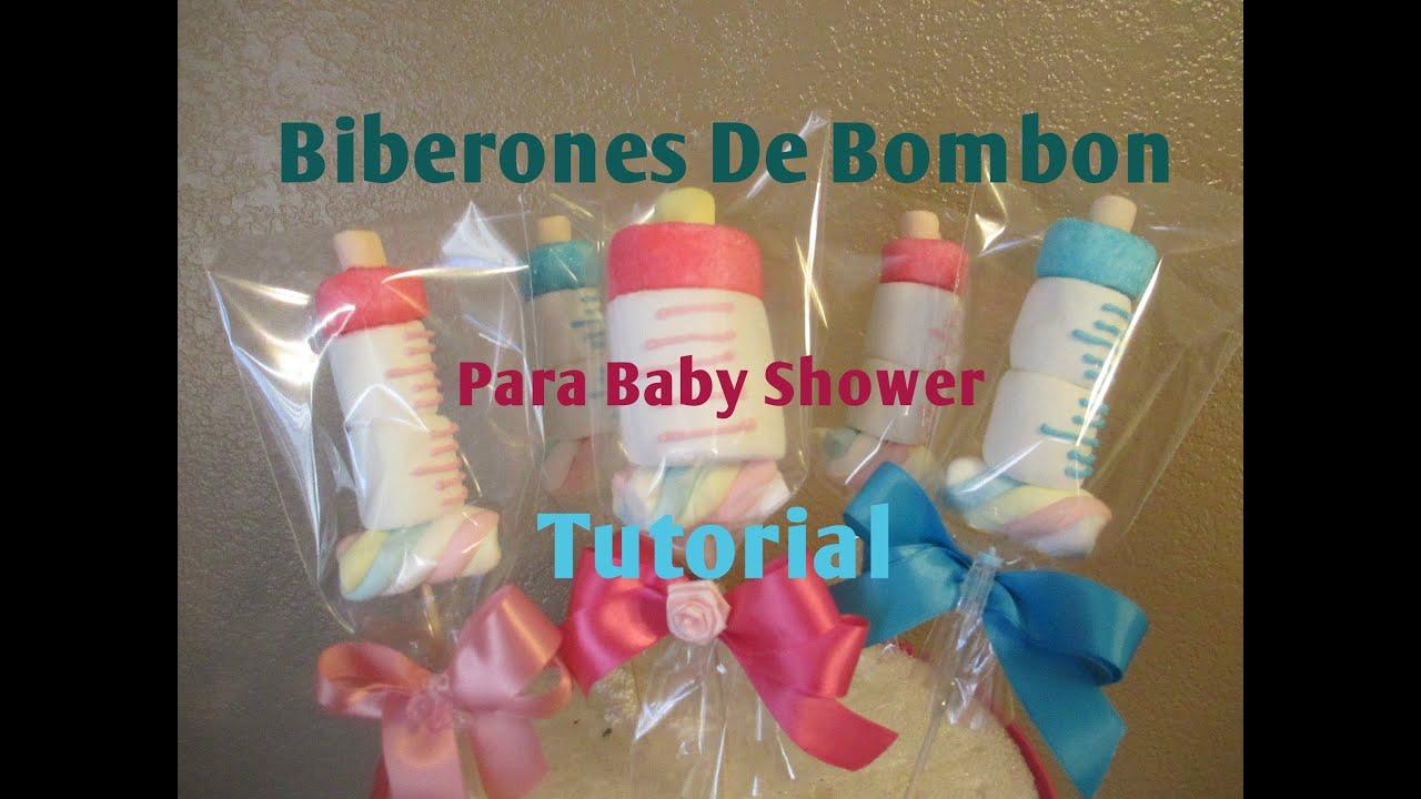 Mamila biberon en bomb n para baby shower muy f cil 2 - Baby shower ideas economicas ...