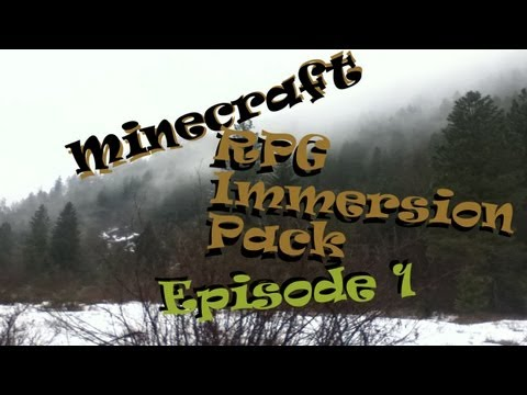 Minecraft FTB RPG Immersion Pack - Episode 1