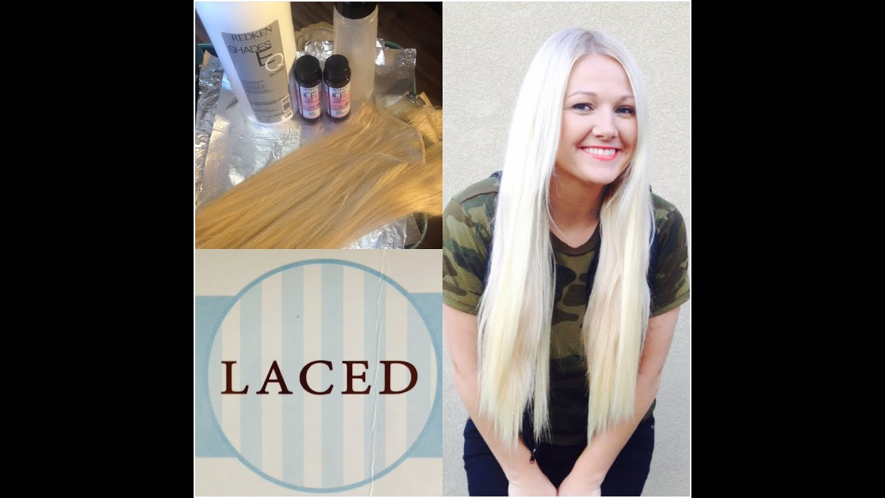 Toning BrassyHair To Ashy Cool Tone Blonde Laced Hair