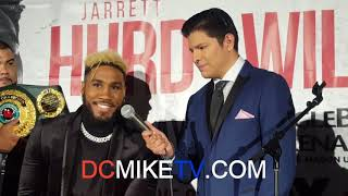 JARRETT HURD AND JULIAN WILLIAMS TALK ABOUT WHO IS GONNA WIN THE FIGHT MAY 11