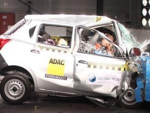 Datsun GO fail global crash tests