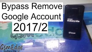 Samsung Galaxy A3 2016 Bypass Google Account Lock Frp