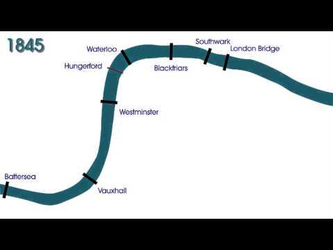 A timeline of London's bridges