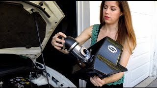 HOW TO INSTALL AN AIR INTAKE!