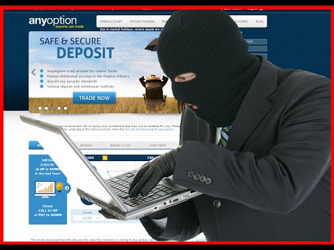 AnyOption fast rewiev. 36.000 GBP lost - No Deposit No Profit - Must see. SCAM!!!