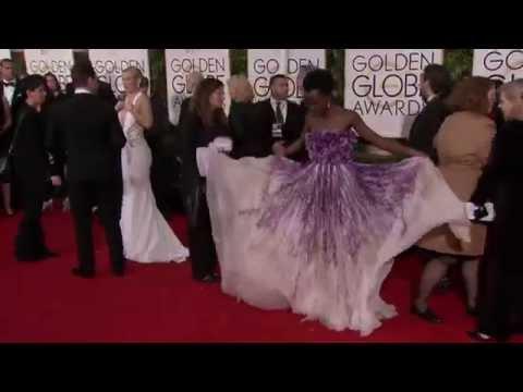 Golden Globes 2015: Lupita Nyong'o Red Carpet