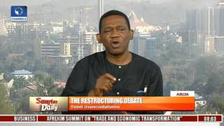 Calls For Restructuring: It Is High Time That Government Listened To Nigerians - Fagbenro-Byron