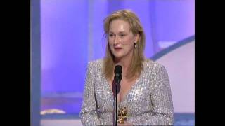 Meryl Streep Wins Best Supporting Actress Motion Picture - Golden Globes 2003