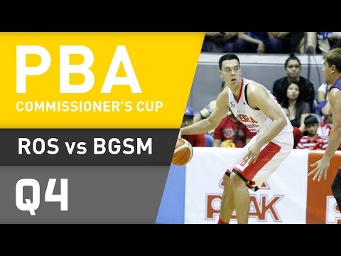 RAIN OR SHINE VS. GINEBRA - Q4 | Commissioner's Cup 2016