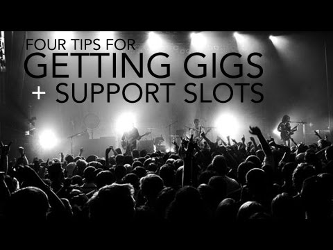 Support slots for bands