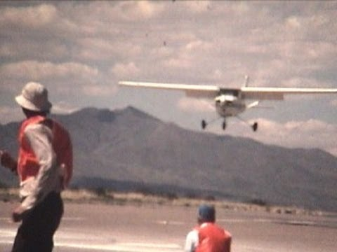 Raw film: 1981 Air Show Socorro, NM