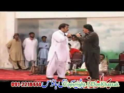 Funny Stage Show  (khor'mor-kanzali,ziyari), Ismail Shahid And Zahirullah Performance video