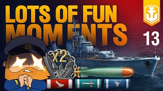 World of Warships Funny Moments #13. My Ship Will Go On