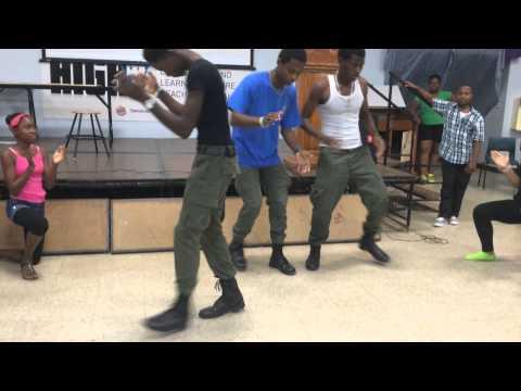John gray high school flash mob(Cayman Islands )