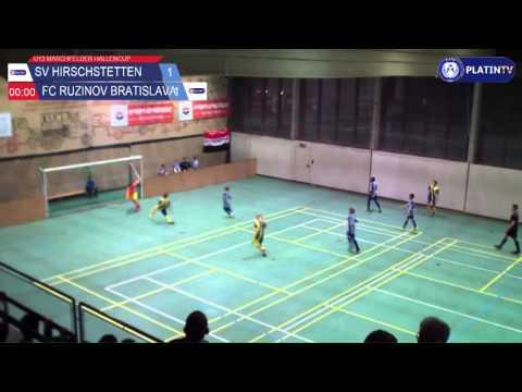 Tor -  SV Hirschstetten / FC Ruzinov Bratislava am 13.02.2016 18:41
