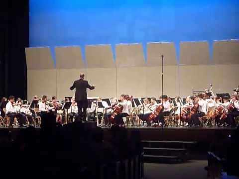 A Touch Of Ireland - Glendale Unified Middle Schools Honor String Orchestra 2013 video