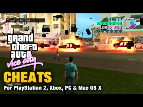 GTA Vice City - Cheats