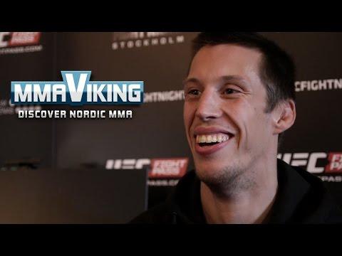 UFC Sweden 3 Media Day Interview Magnus Cedenblad