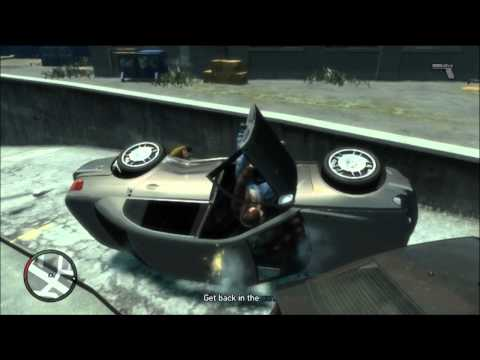GTA IV GameplayCommentary Part 13 - Car Game