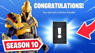 *NEW* Fortnite SEASON 10 - SECRET UNLOCK! (Season X)