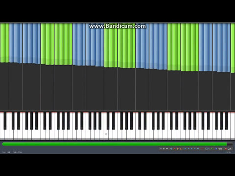 [Black MIDI] Synthesia - Wrecking Ball 1.1 Million Notes - Miley Cyrus (MIDI by EpreTroll)