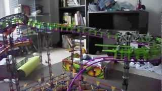 Knex Inverted Wild Mouse (Wild Bat test one)