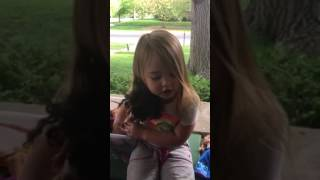 3-year-old Janie sings Moana