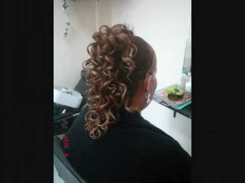 Peinado cascada de rizos youtube - Peinados de fiesta con rizos ...