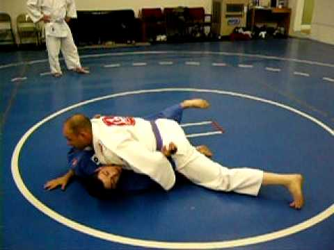 BJJ Techniques: Half Guard Pass to Side Control, Kesa Gatame Image 1