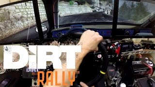 DiRT RALLY Triple monitor test play