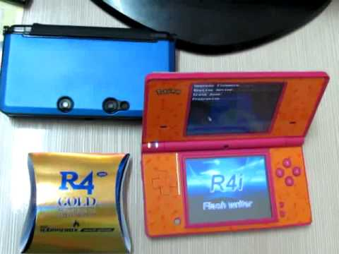 R4 Gold Pro 2013 Firmware Upgrade for 3DS 6.1.0-11U 6.1.0-12E