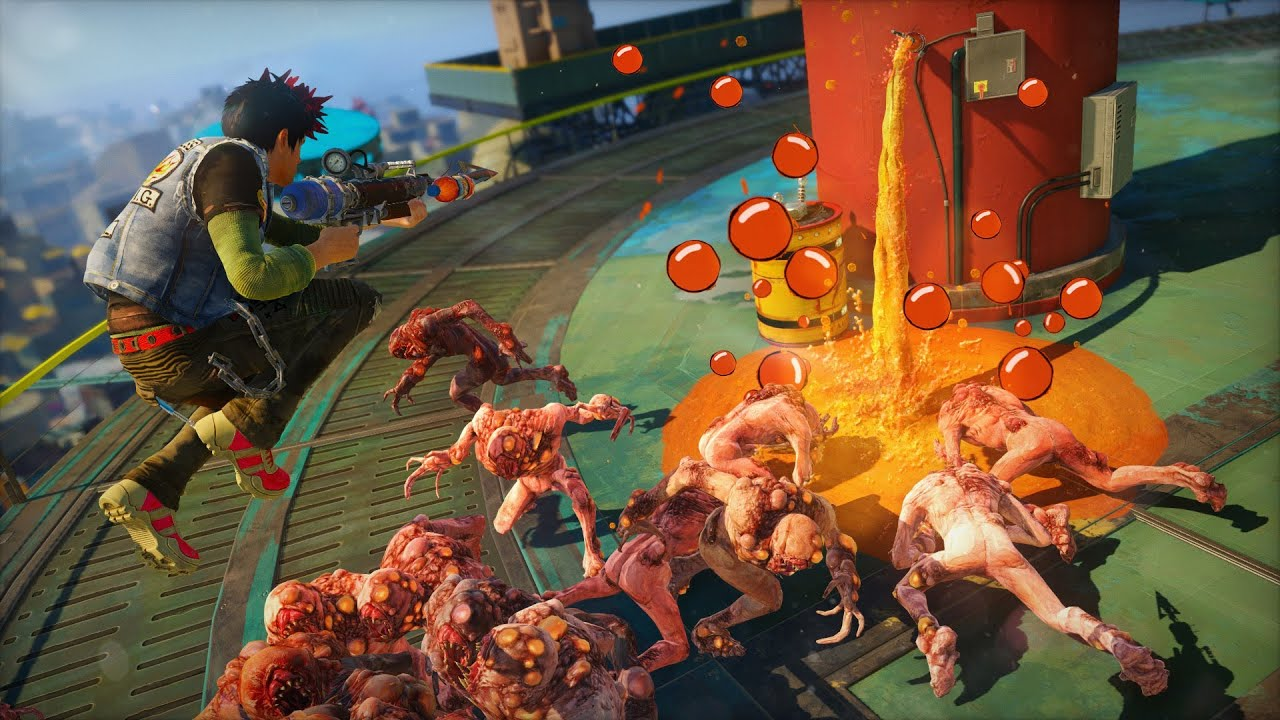 Sunset Overdrive Gameplay 2 YouTube