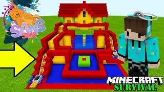MEMBANGUN TOKO MAINAN SOUVENIR ! Minecraft Survival Sans SMP #14