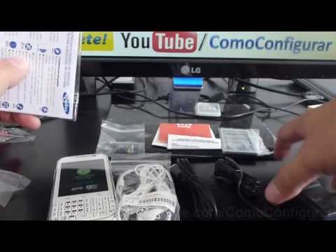 Unboxing samsung galaxy chat gt b5330 español Video Full HD