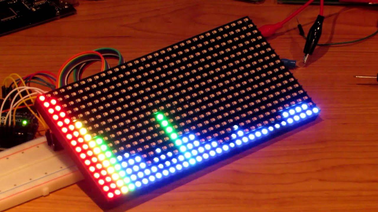 Arduino spectrum analyzer youtube