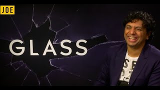 M Night Shyamalan On Glass, Possible Sequels, And THAT Reveal