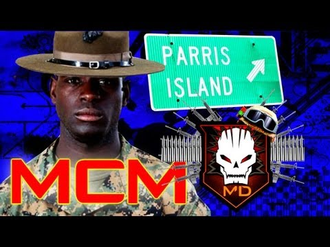 Marine Corps Stories: Arriving at Parris Island Marine Corps Recruit Depot: Sh*t Got  Real..