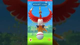 Pokémon Go - Level 5 Raid - Ho-Oh