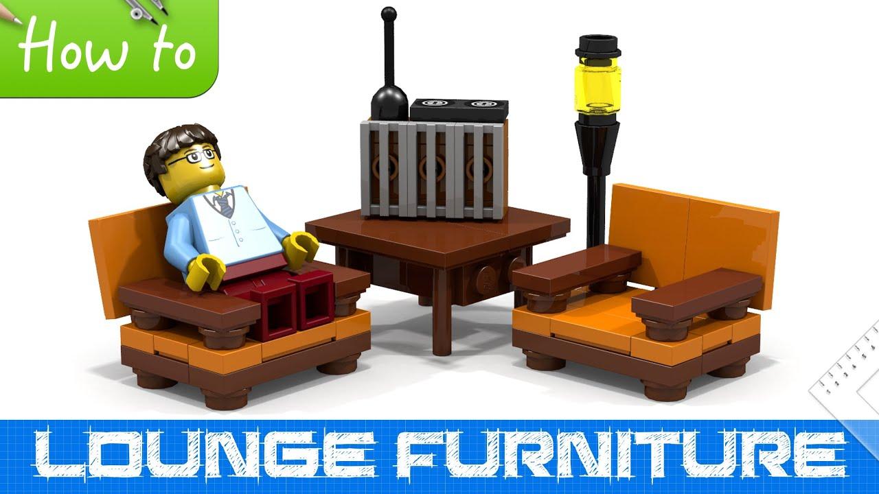 Как сделать лего мебель инструкция