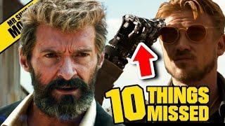 Logan Trailer - Easter Eggs & Things Missed (Wolverine 2017)