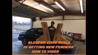 Sleeper Build Part 3-How to replace a fender